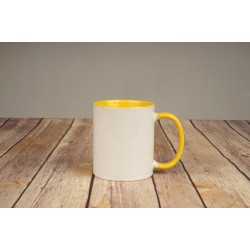 Чаша жълта