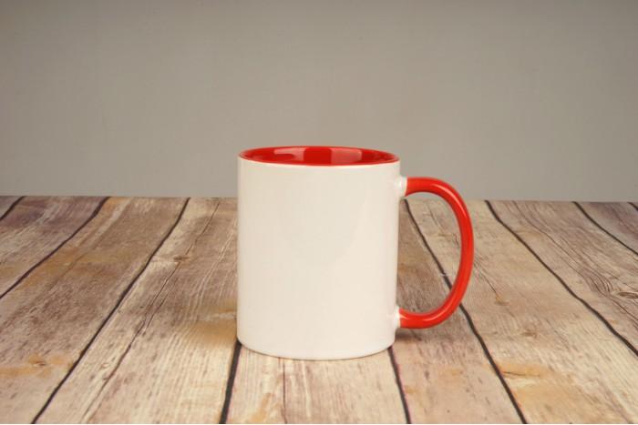 Чаша червена
