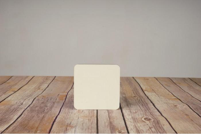 Подложка за чаша квадрат 9,5х9,5 см.