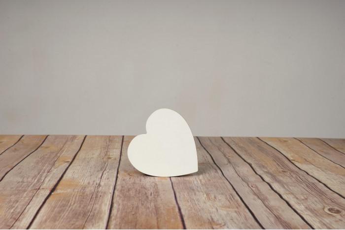 Подложка за чаша сърце 10х10 см.