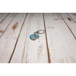 Ключодържател сърце 3,5х4 см.
